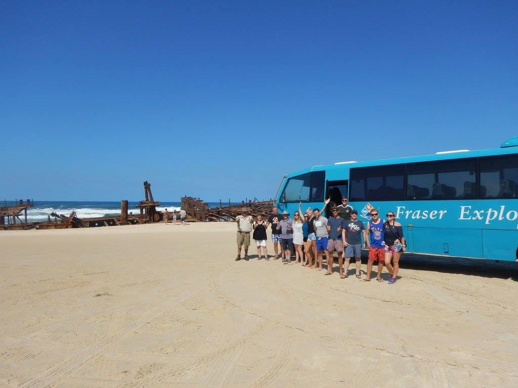 Fraser Island explorer tour