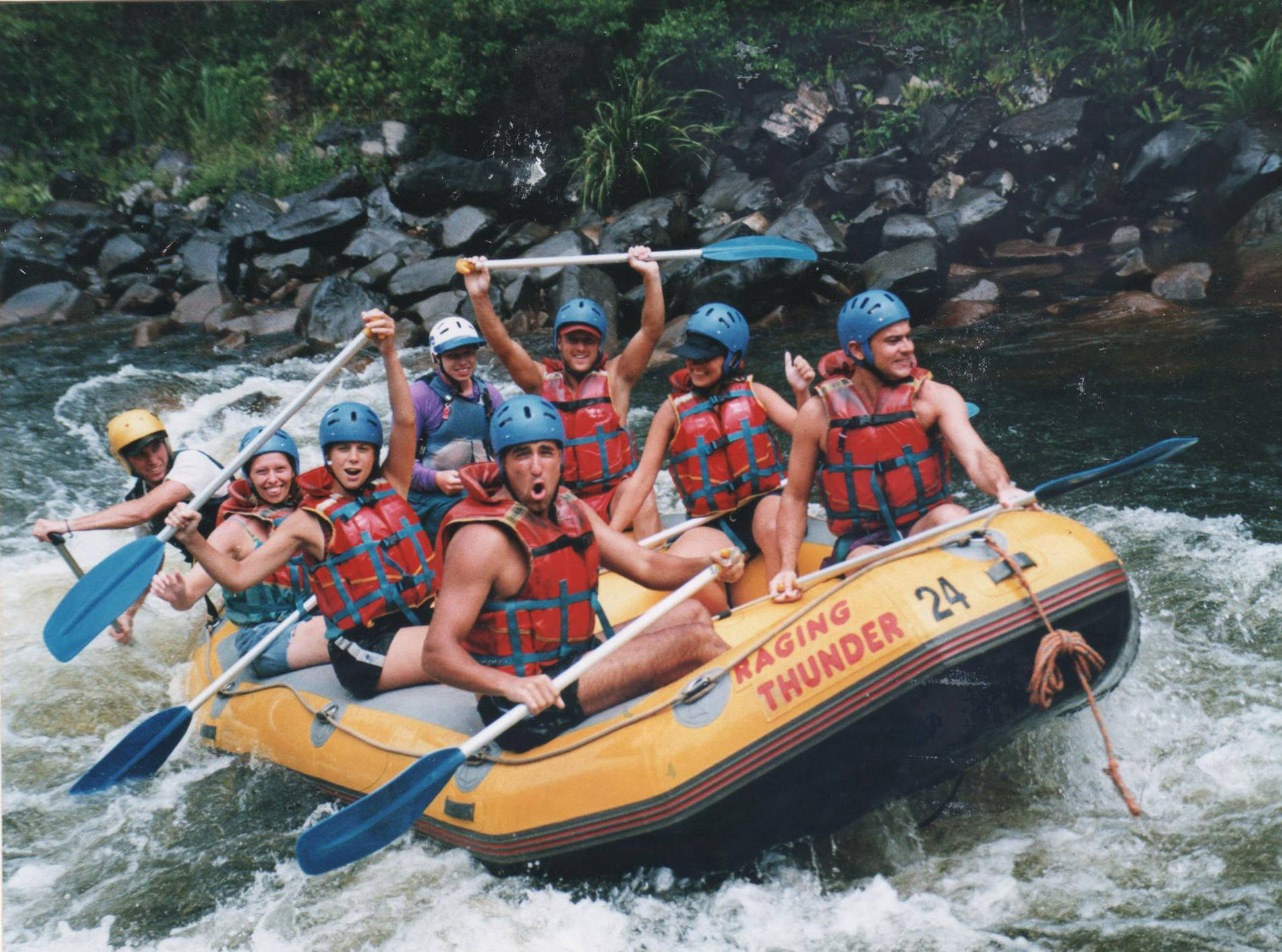 rafting mission beach