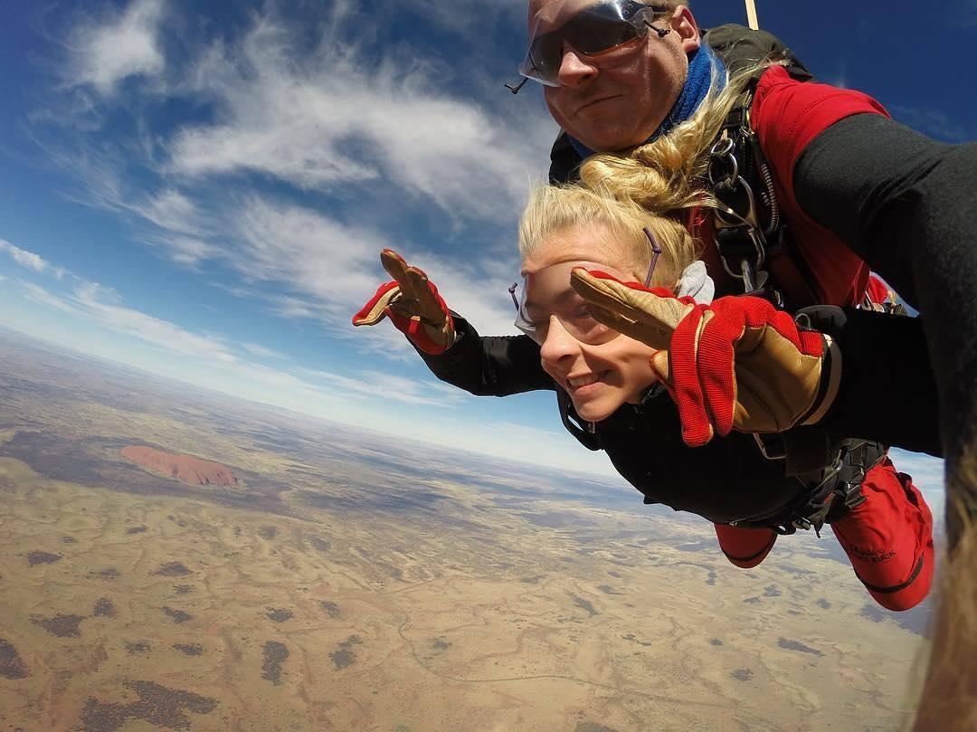 saut en parachute washington