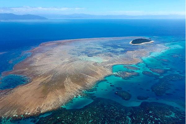 Vol Grande barrière corail GSL
