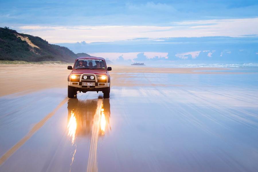 Fraser island 4x4