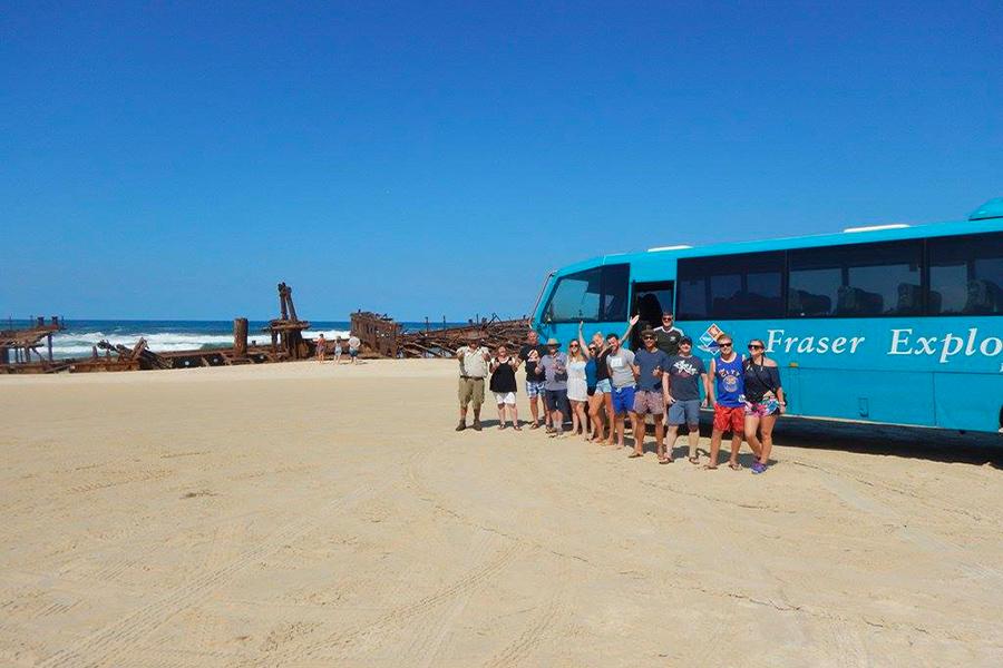 Une journée Fraser Island