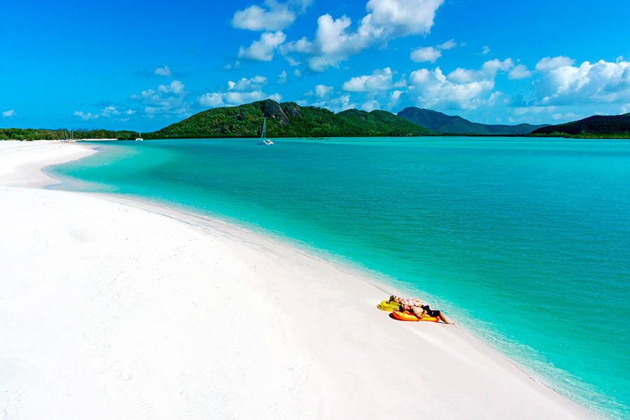Voilier Whitsunday Island