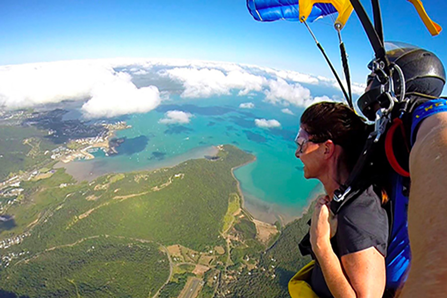 Saut en parachute Whitsunday Islands